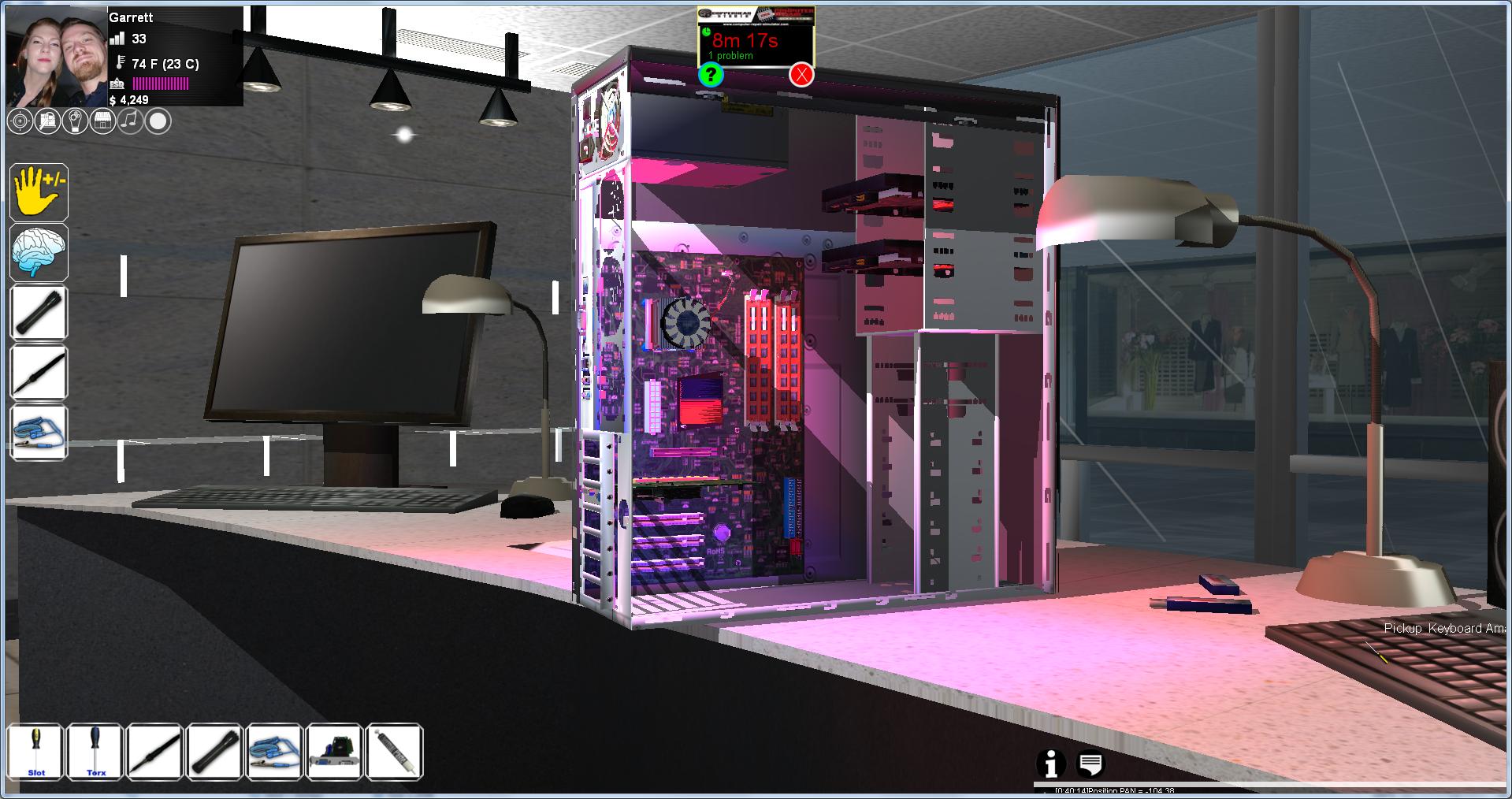 Computer Repair Simulator